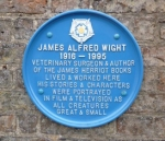 Skeldale House plaque